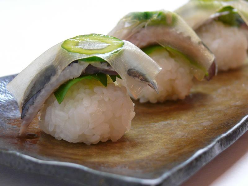 いわし寿司の写真
