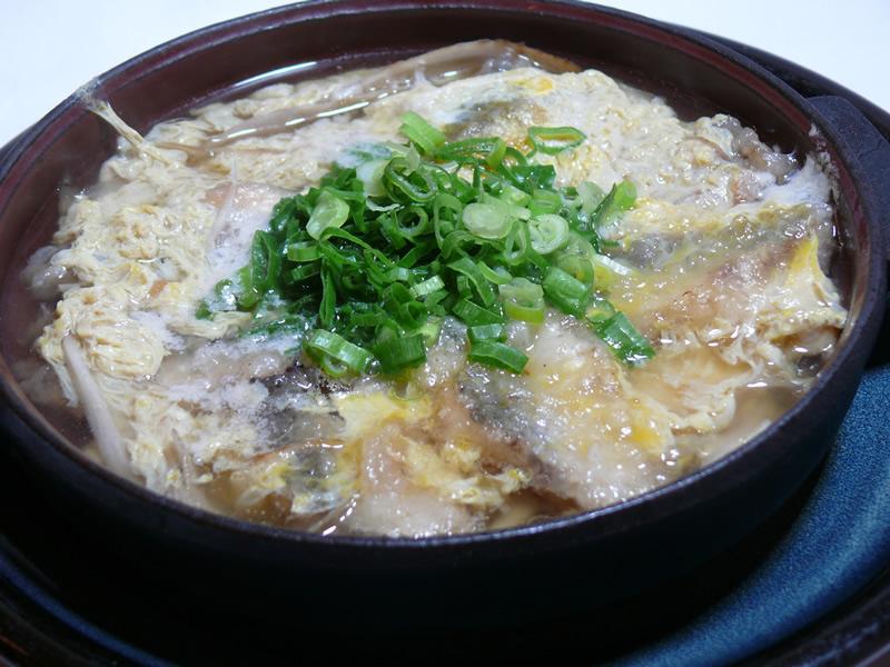 いわし柳川鍋の写真