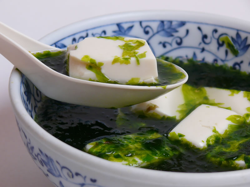 岩のり豆腐の写真