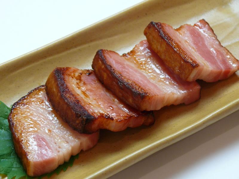 豚ベーコン炙りの写真