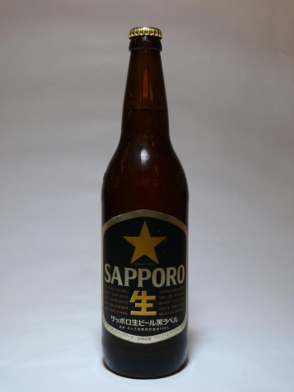 ビール(大瓶)の写真