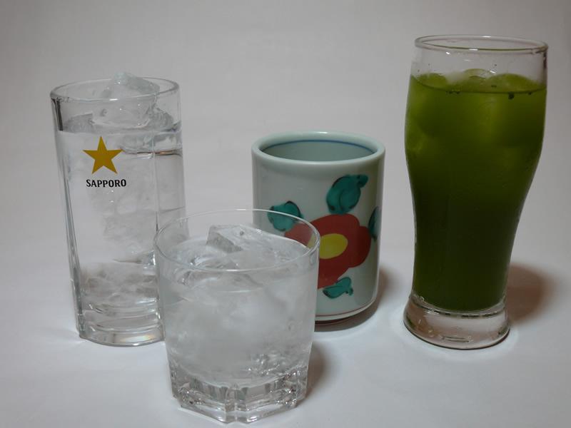 芋焼酎 グラス(水割り/お湯割り/ロック/茶葉茶割り)の写真