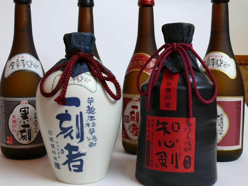 芋焼酎 各種ボトル(720ml)の写真