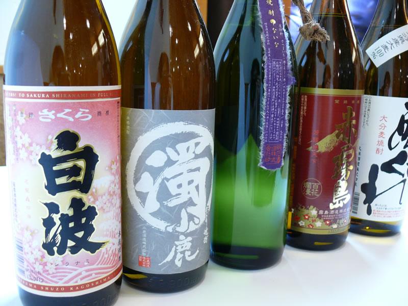 芋焼酎 各種ボトル(1800ml)の写真